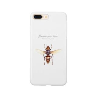 オオスズメバチ Smartphone cases