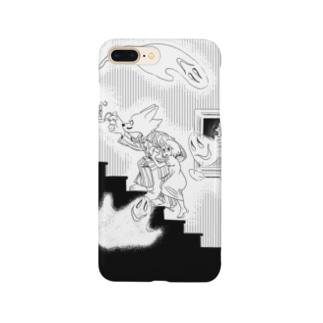 お化け屋敷 Smartphone cases