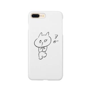 ヨガねこ Smartphone cases