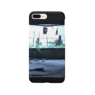 廃墟工場写真 Smartphone cases