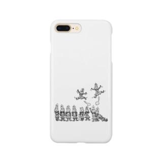 将棋の歩と桂馬らへん Smartphone cases