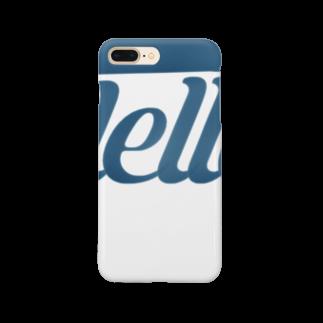 キューカンバー・ガールのHello スマートフォンケース