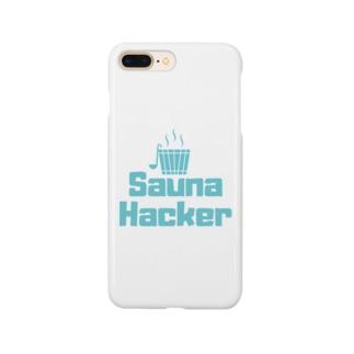 サウナハッカー Smartphone cases