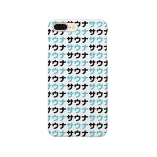サウナサウナサウナ Smartphone cases