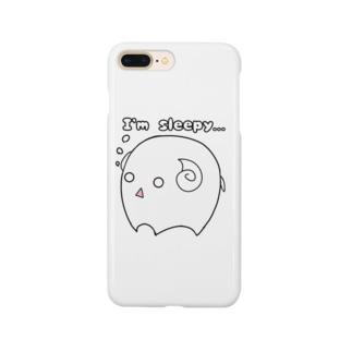 まるまるシリーズ第5弾…ヒツジ Smartphone cases