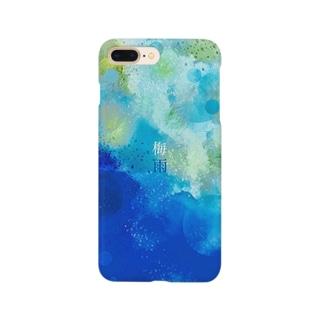 梅雨 スマホケース Smartphone cases