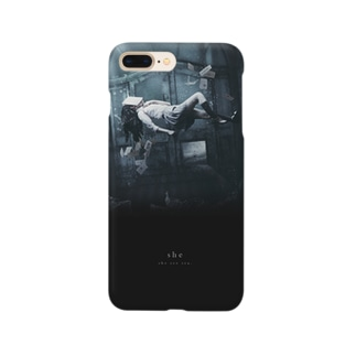 """""""she"""" #01 iPhone case Smartphone cases"""