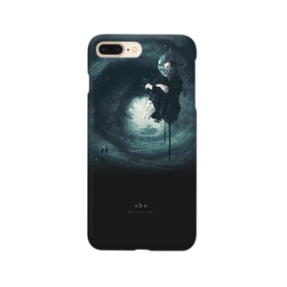 """""""she"""" #02 iPhone case Smartphone cases"""