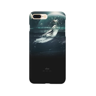 """""""she"""" #03 iPhone case Smartphone cases"""