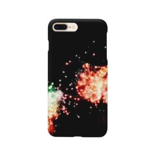 花火 スマホケース Smartphone cases