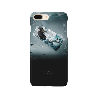"""""""she"""" #04 iPhone case Smartphone cases"""
