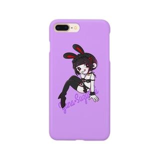 涼谷うさぎ Smartphone cases