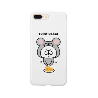 ゆるうさぎ マウス Smartphone cases