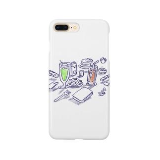 喫茶 Smartphone cases