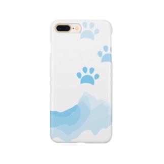 水遊びした肉球 Smartphone cases