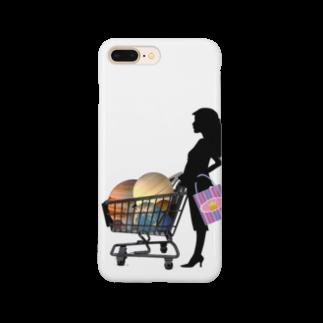 iPhonecakeの惑星ショッピング Smartphone cases