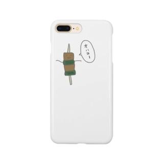 ねぎまくん Smartphone cases