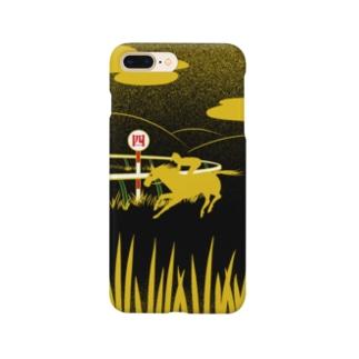 蒔絵風お馬。 Smartphone cases