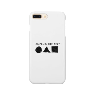SIMPLE IS DIFFICULT Smartphone cases