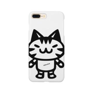 ボンsimple B Smartphone cases