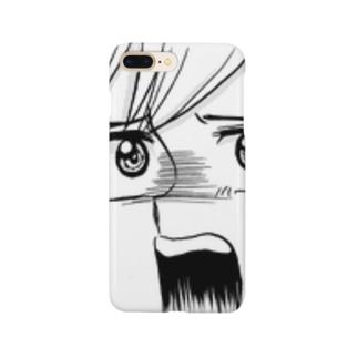 びっくりしている人 Smartphone cases