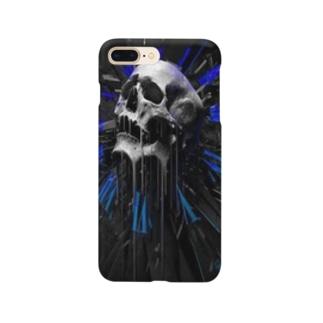 カッコいいガイコツ Smartphone cases