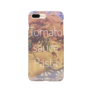 茄子のナポリタン Smartphone cases