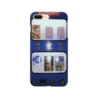ゴム自販機 Smartphone cases