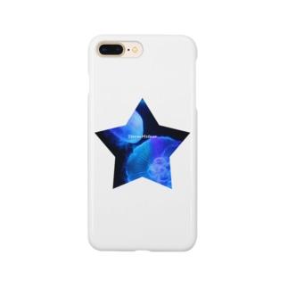 星と海月 Smartphone cases