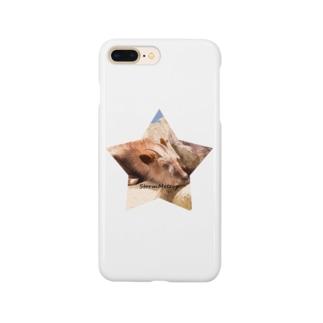星とおやすみ動物 Smartphone cases