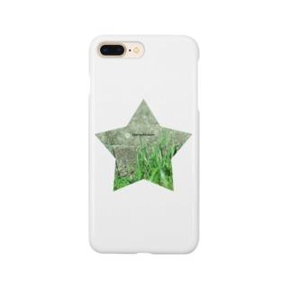 星と草と階段 Smartphone cases