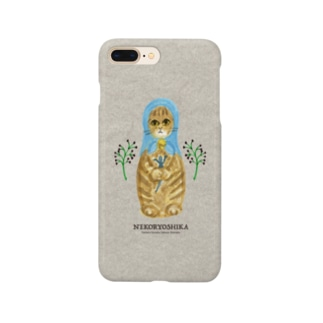 ネコリューシカ!コノハ Smartphone cases