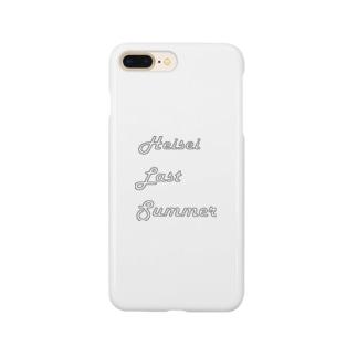 へいせいラストサマー Smartphone cases