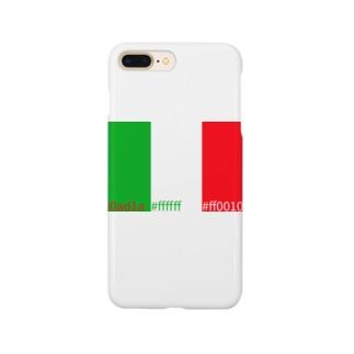 いたりあカラー Smartphone cases