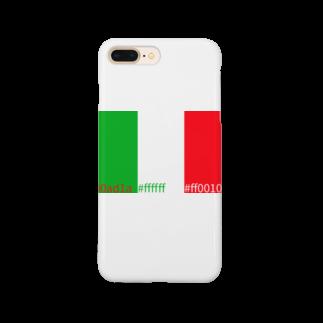 yoshica's design caféのいたりあカラー Smartphone cases