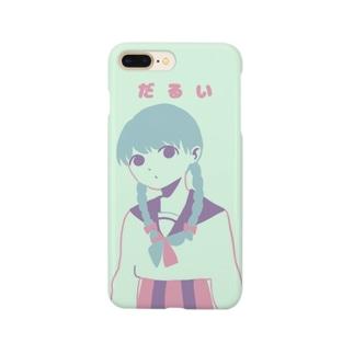 だるいスマホケース Smartphone cases