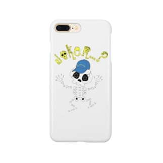【Suzuri限定】JOKER?SKULLデザインiphoneケース Smartphone cases