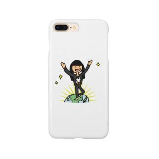 【ウシ子さん】とうちゃく Smartphone cases