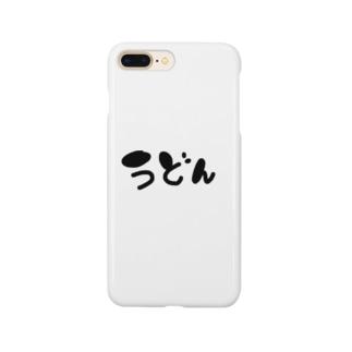 うどん Smartphone cases