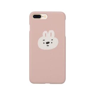 眉毛うさぎ(カノジョ) Smartphone cases