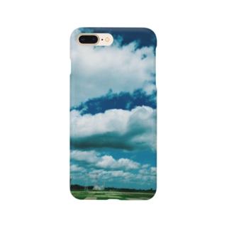 青と緑 Smartphone cases
