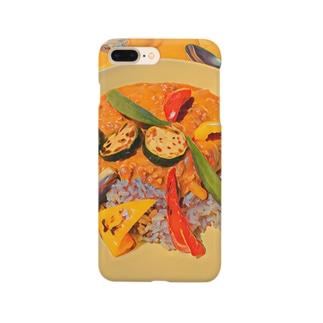 夏野菜カレー Smartphone cases