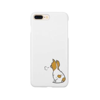 ジャックラッセルテリアのもーちゃん Smartphone cases