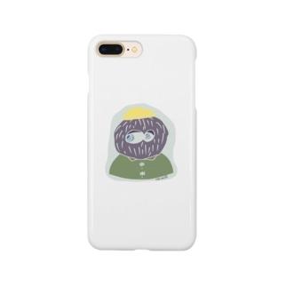hair ball man Smartphone cases