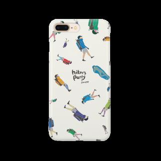 sampopのhiker's party Smartphone cases