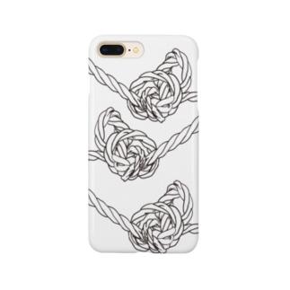 結び目 Smartphone cases