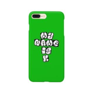 【Suzuri限定】モッシュロゴ Smartphone cases