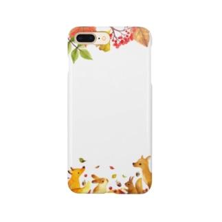 Visite d'automne(秋の訪れ) Smartphone cases