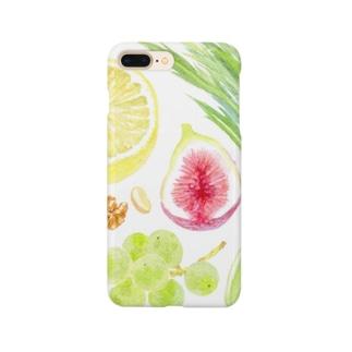 フルーツサラダ Smartphone cases