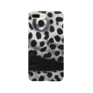 うつぼ (黒) Smartphone cases